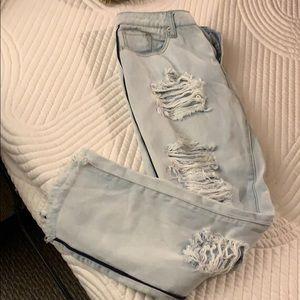 Ashley Mason Distressed Jeans